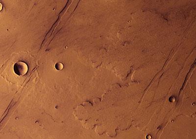 Le volcanisme de Mars