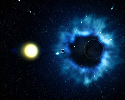 ESA - Space for Kids - Our Universe - Black Holes - images