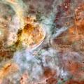 Carina Nebula, Hubble image