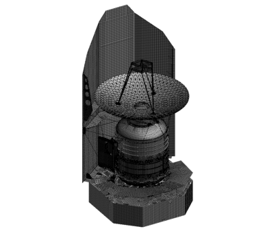 Model of Herschel Spacecraft