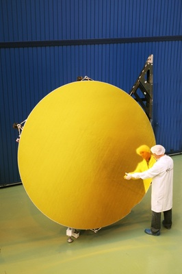 Fig. 5. Ka-Sat 2.6 m Ka band reflector