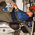 Nespoli sleeps in Harmony