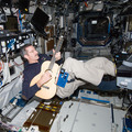 Expedition 30's Dan Burbank with guitar