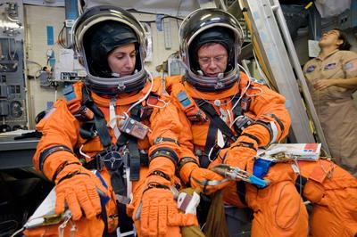 orange space suit training - photo #28