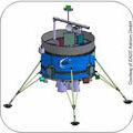 Lunar Lander concept  from Astrium GmbH