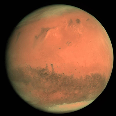 Mars seen by OSIRIS 24 Feb 2007