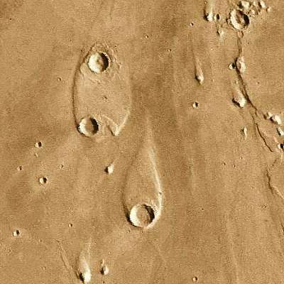 Water on Mars? - islands in the Chryse Basin