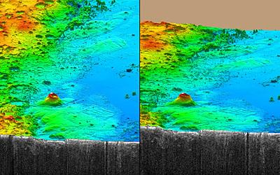 Mystérieux dépôts près de l'équateur de Mars