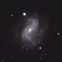 Imagen en luz visible de la galaxia NGC 4051.