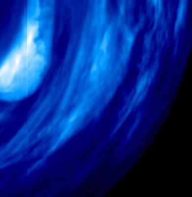 Venus Express et les fenêtres infrarouge dans l'atmosphère de Vénus