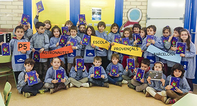 Provençals School of Barcelona with their gifts