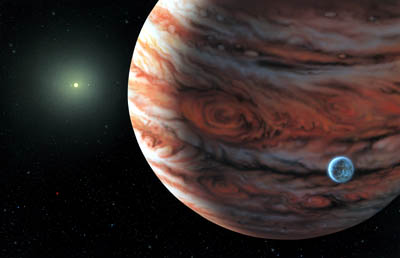 A planetary system that looks similar to our own
