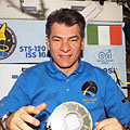 Nespoli during STS-120