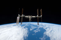 ISS view on 8 September 2009