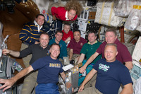 'The All-American Meal' aboard the ISS