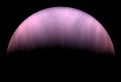 Venus in ultraviolet-light