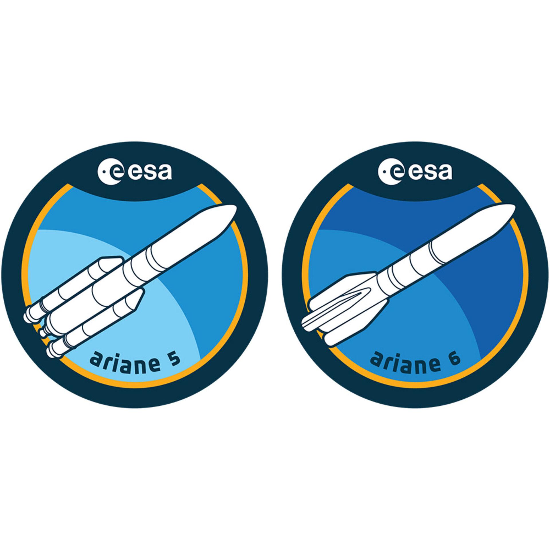 loga raket Ariane 5 a 6
