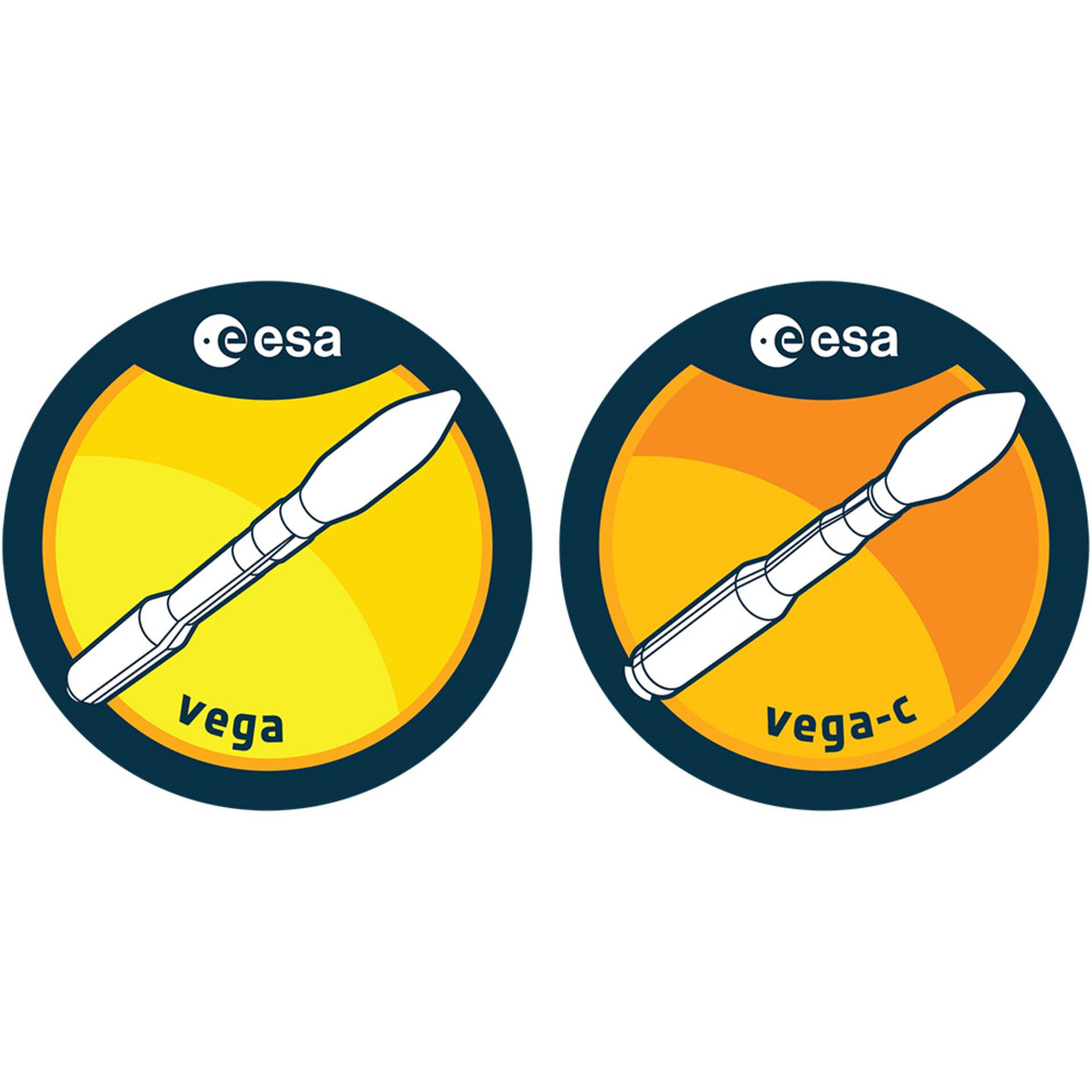 loga raket Vega a Vega C