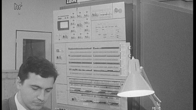 First computer at ESOC 1967