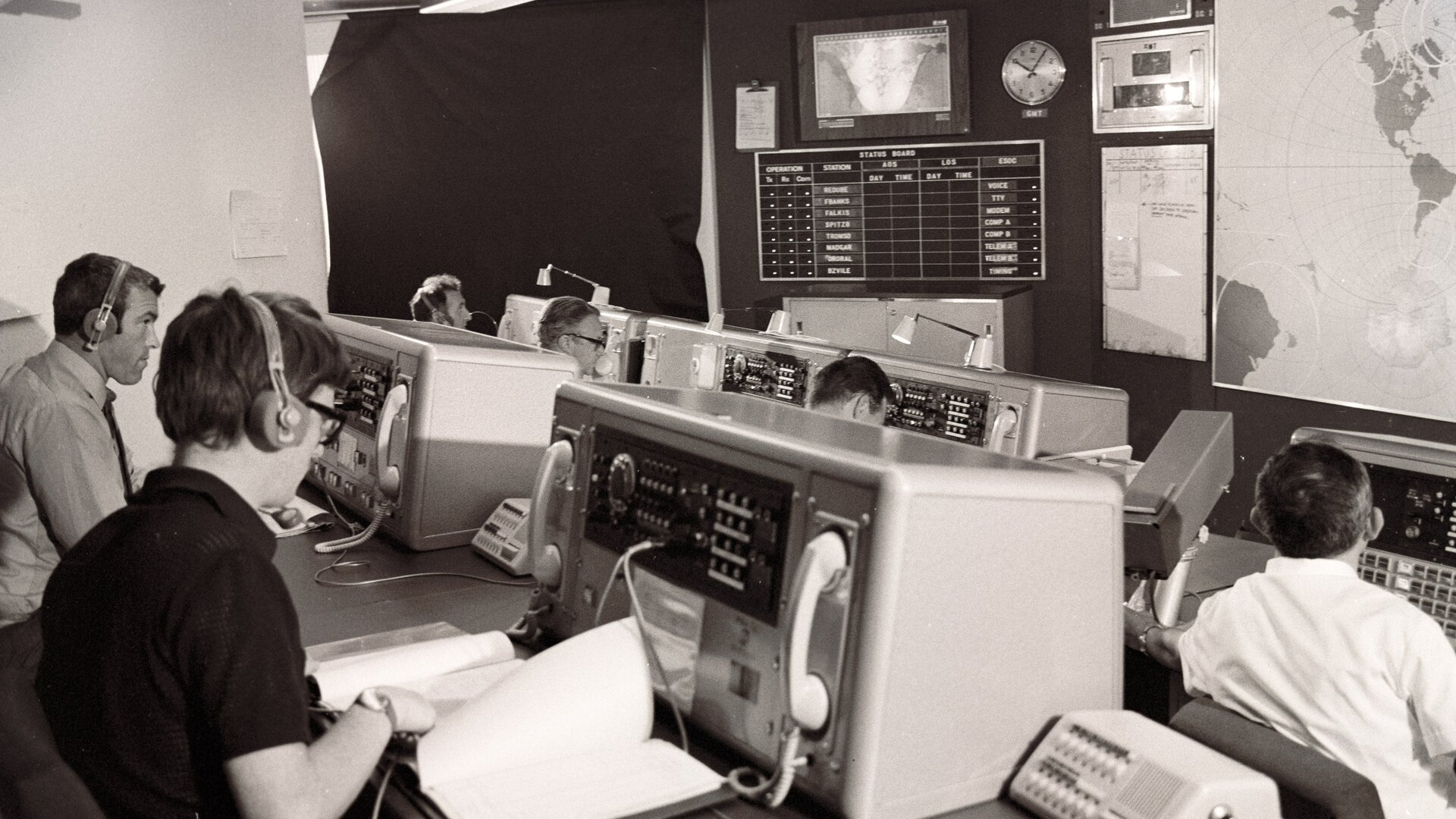 Control facilities in the 1960s