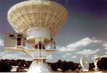 Villafranca tracking station 1977