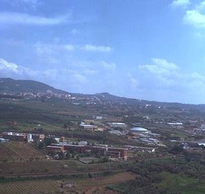 Aerial view of ESRIN