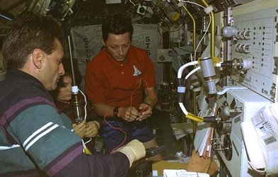 AGHF aboard LMS Spacelab