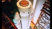 Ariane-501 assembly at Kourou