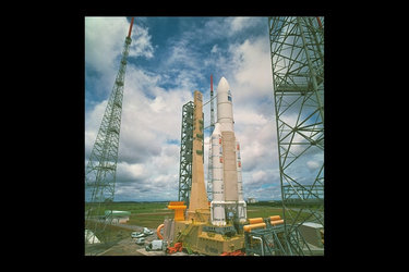 Ariane-501 on the pad