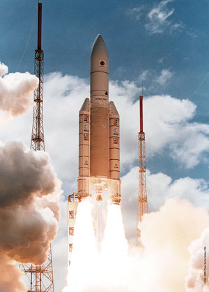 Ariane-502 launch