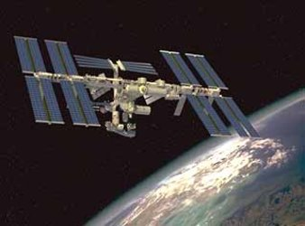 Artist's impression of the completed ISS