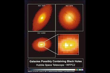 Black Hole candidates imaged by Hubble