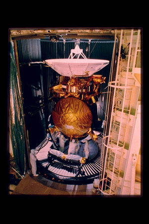Cassini in the space chamber
