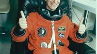 Claude Nicollier prepares for STS-75