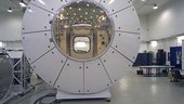 Columbus Orbital Facility simulator at ESTEC