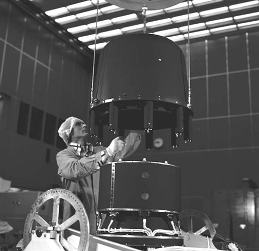 Cos-B telescope assembly