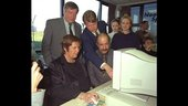 Dutch Minister opens remote sensing classroom