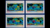 El Nino - ERS Radar Altimeter sea level maps