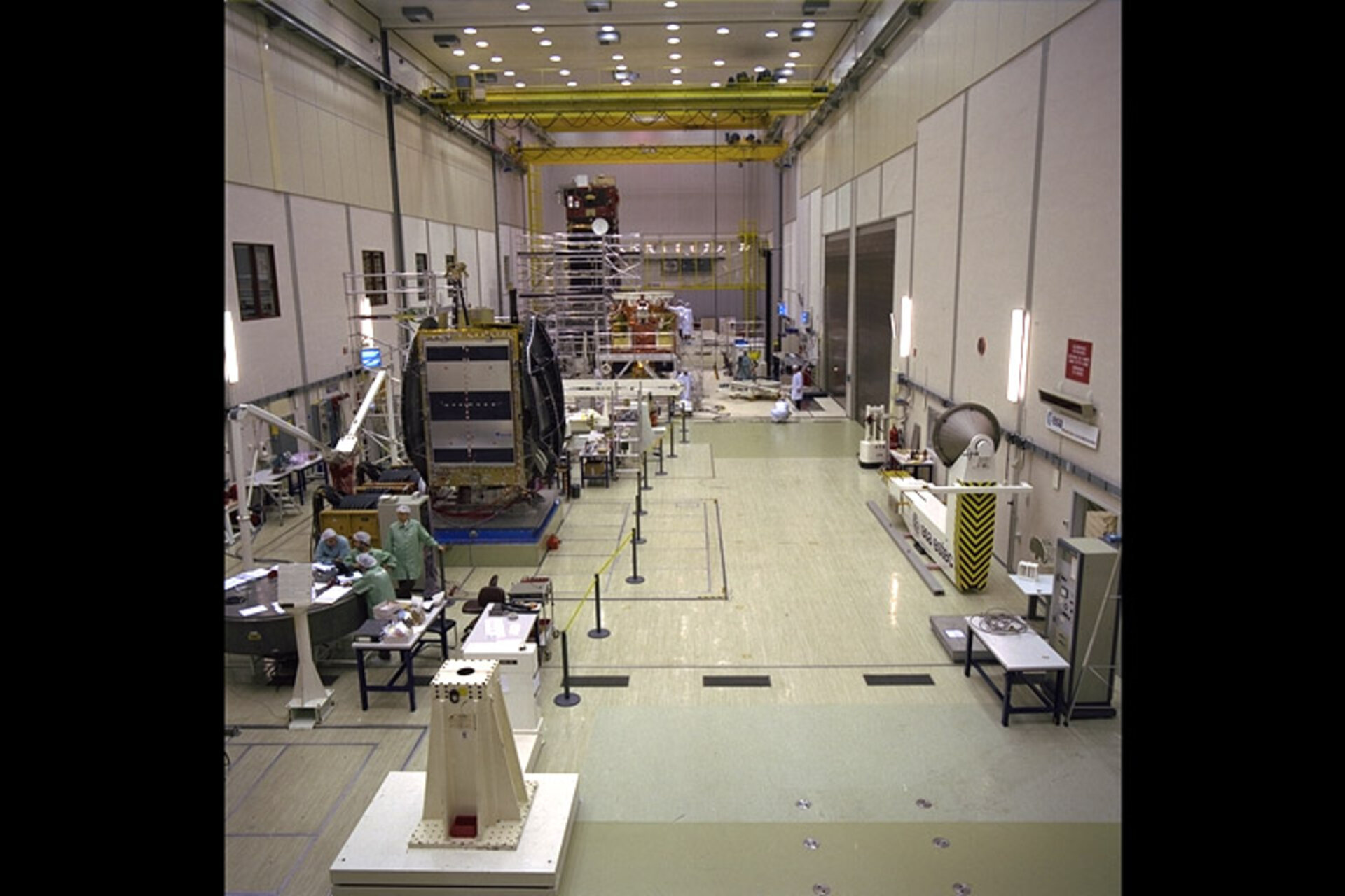 Envisat / Polar Platform and Artemis at ESTEC