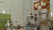 ERS-2 propellant loading at Kourou