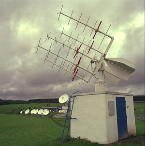 ESA/Redu TM5 telemetry antenna