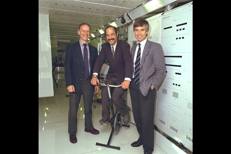 ESA's first three astronauts
