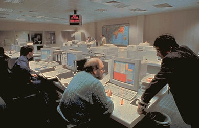 ESOC Flight Dynamics Room