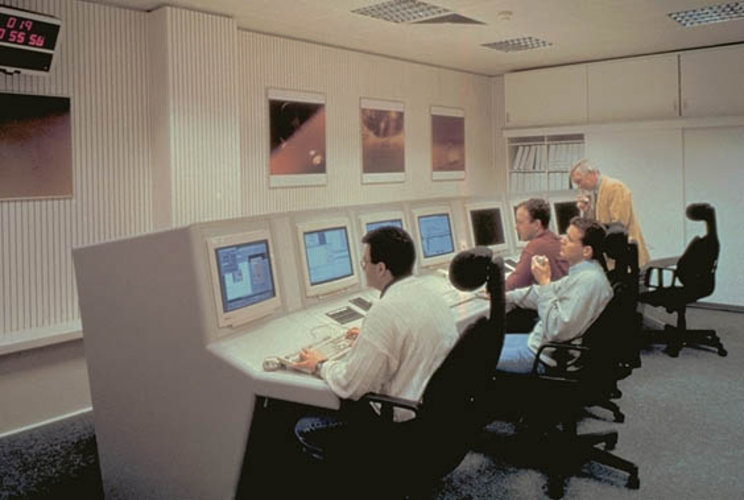 ESOC Huygens Dedicated Control Room
