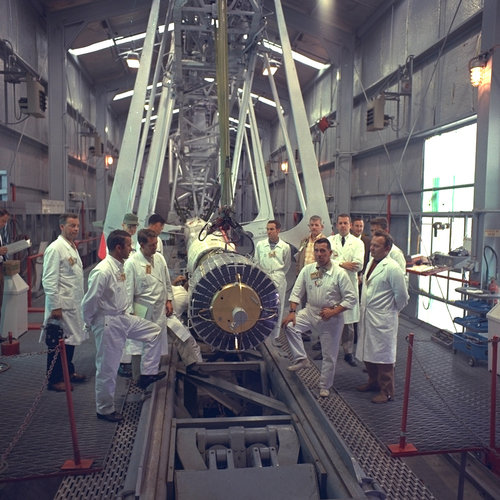 ESRO-1 launch preparations