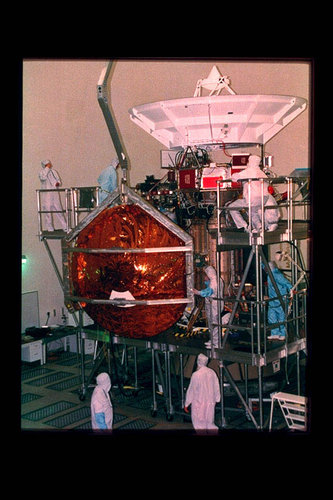 Huygens Probe installation on Cassini