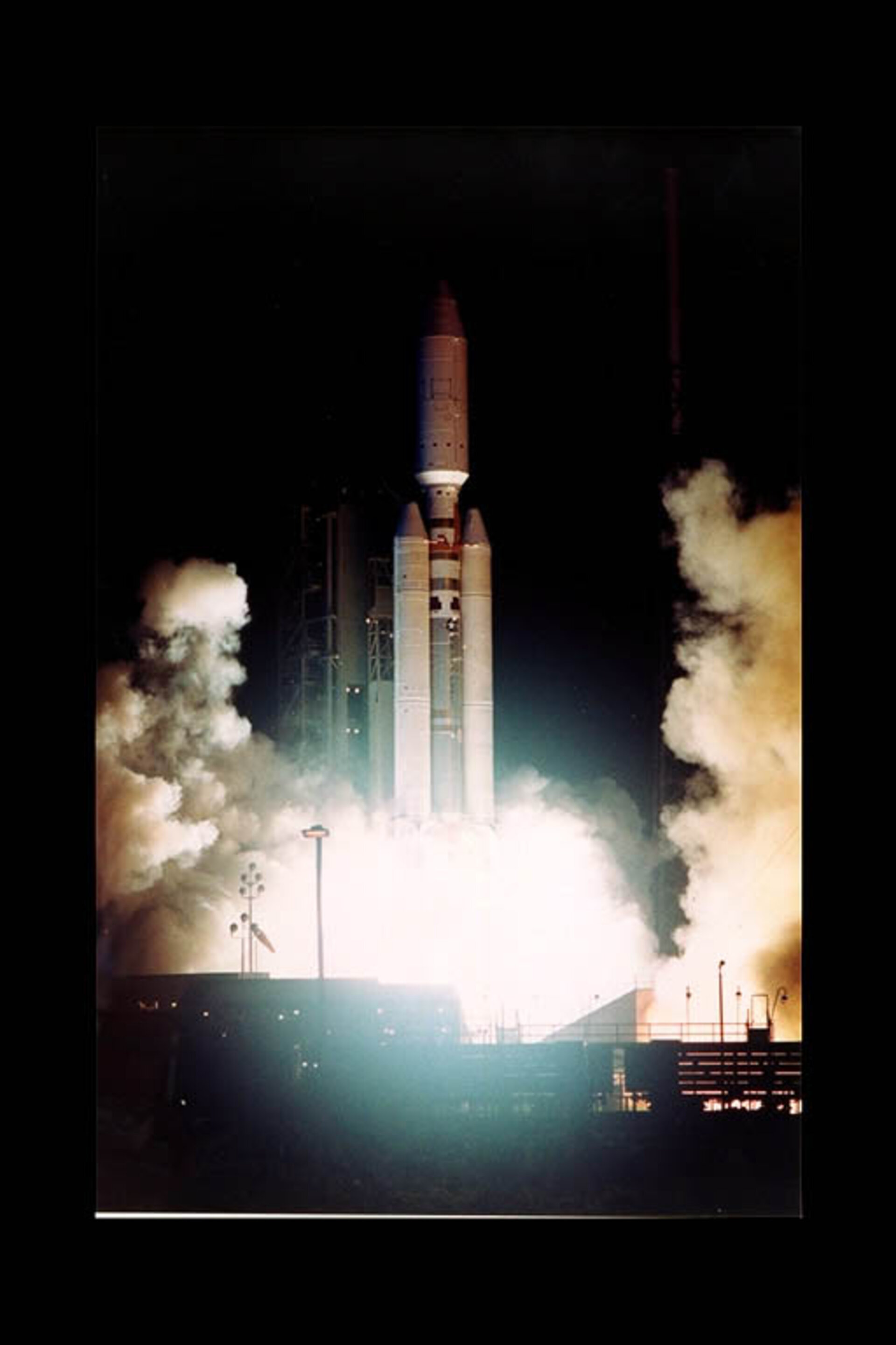 Launch of Cassini/Huygens