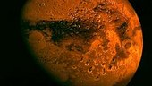 Mars Express target: the Red Planet