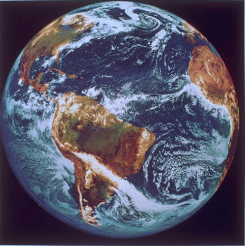 Meteosat-3 Earth image
