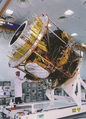 Meteosat Second Generation assembly